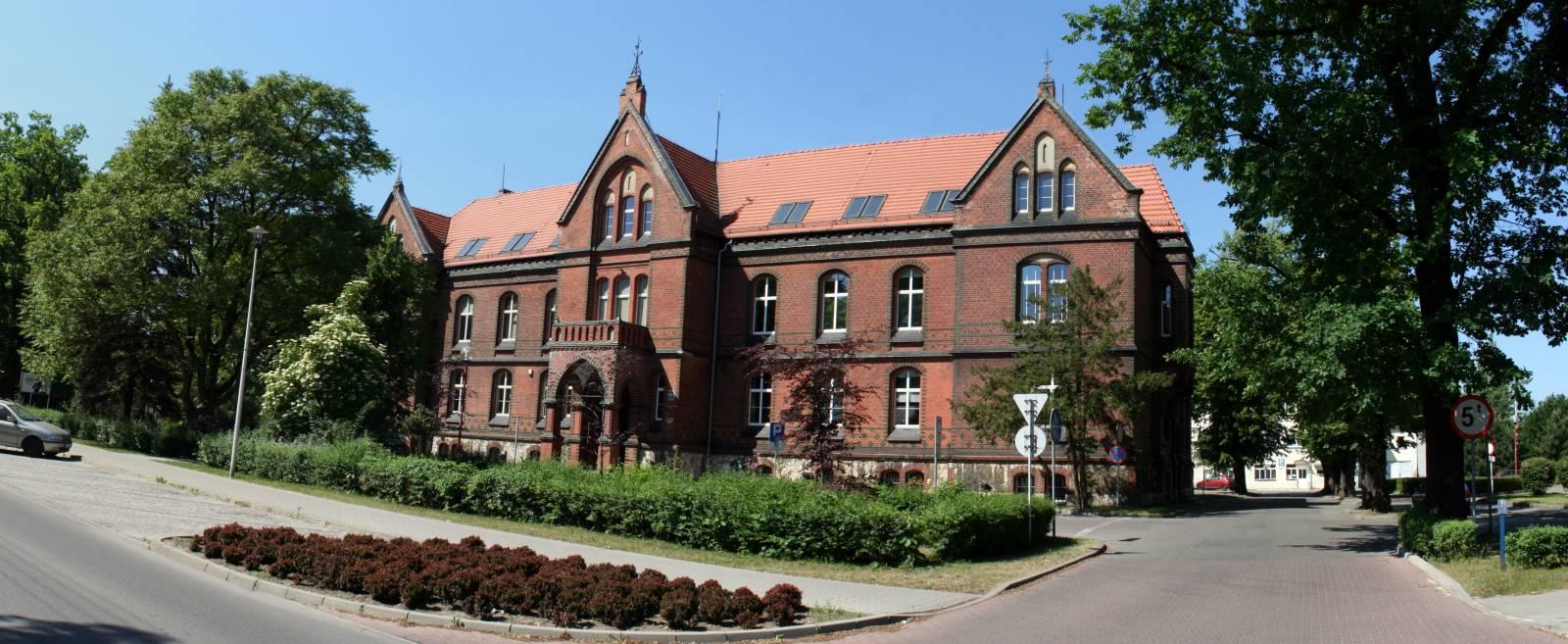 Budynek Starostwa Powiatowego w Lublińcu